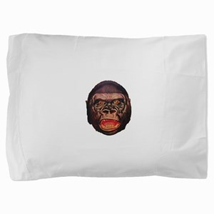 Retro Gorilla Pillow Sham