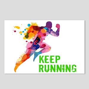 Keep Running Postcards (Package of 8)