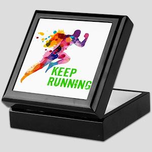 Keep Running Keepsake Box