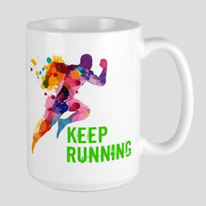 Keep Running Mugs