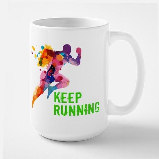 Keep Running Mugs
