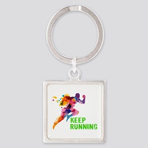 Keep Running Keychains