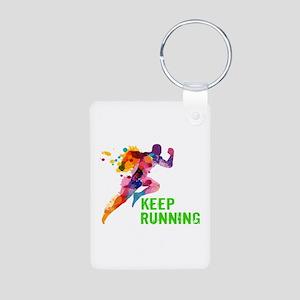 Keep Running Keychains