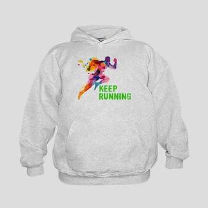 Keep Running Hoody