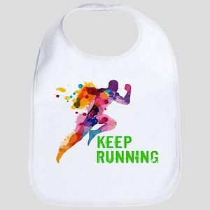 Keep Running Bib