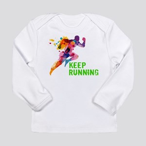 Keep Running Long Sleeve T-Shirt