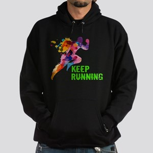 Keep Running Hoody