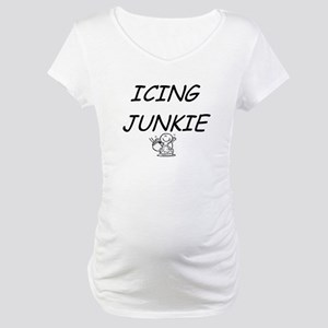 Icing Junkie Maternity T-Shirt