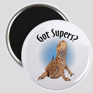 Bearded Dragon Got Supers? Magnet