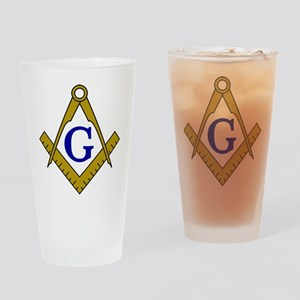 Masonic Drinking Glass