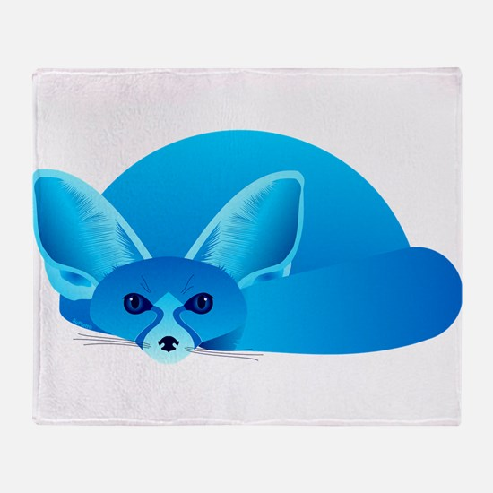 Phil, Winter Fox Throw Blanket