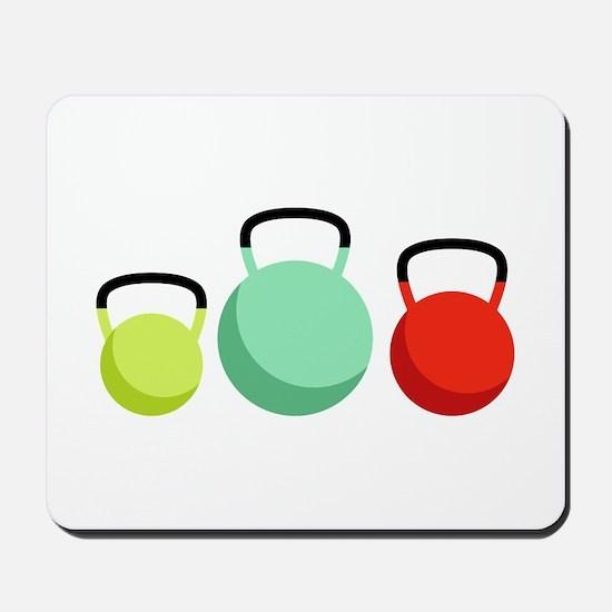 Kettlebells Mousepad