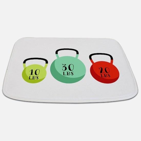 Kettlebell Weights Bathmat