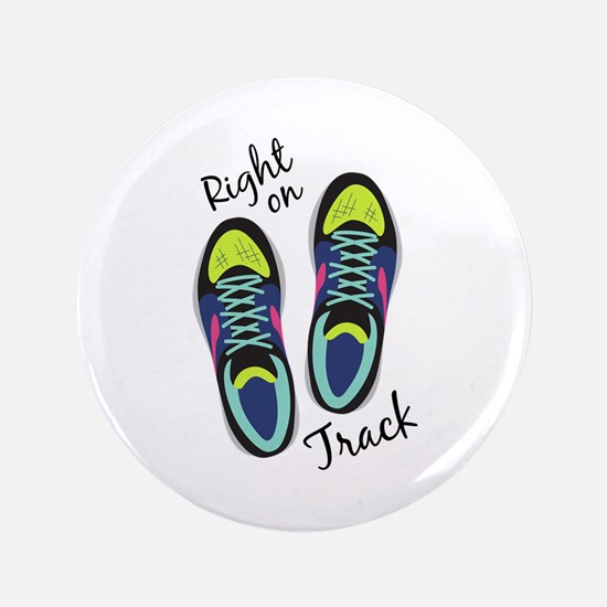 Right On Track Button