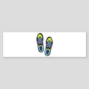Running Shoes Bumper Sticker