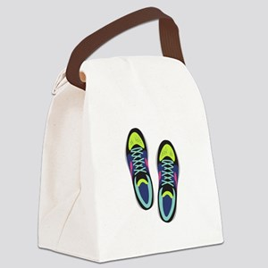 Running Shoes Canvas Lunch Bag