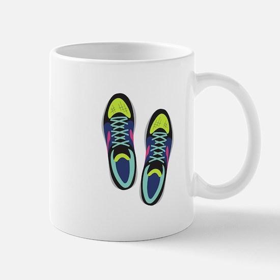 Running Shoes Mugs