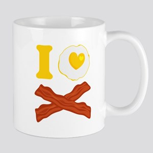 I Love Bacon And Eggs Mug Mugs