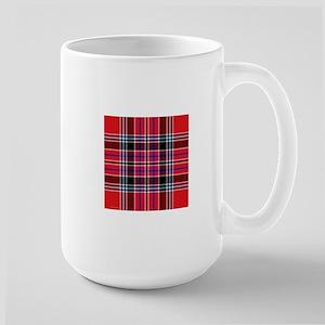 MacBain MacBean Clan Tartan Square Large Mug