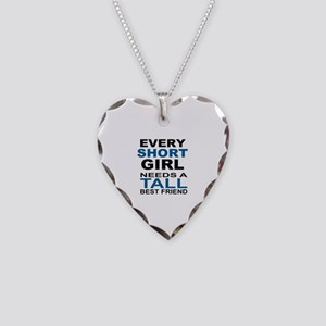 EVERY SHORT GIRLS NEEDS A TAL Necklace Heart Charm