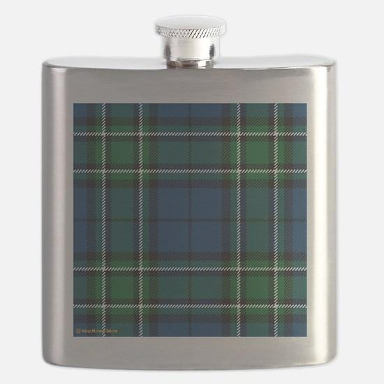 MacCallum Clan Tartan Square Flask