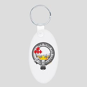 MacDonald Clan Aluminum Oval Keychain