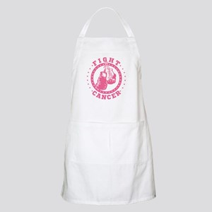 Pink Boxing Gloves Fight Cancer Apron