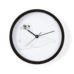 Baby Harp Seal Wall Clock
