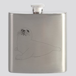 Baby Harp Seal Flask
