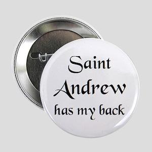 "saint andrew 2.25"" Button"