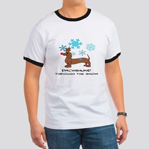 DACHSHUND THROUGH THE SNOW - DOGS Ringer T