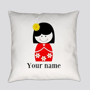 Girl (p) Everyday Pillow