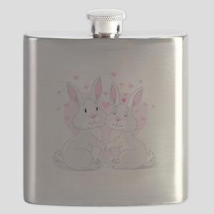 Bunny Love Flask