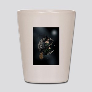 Cresent Witch Shot Glass
