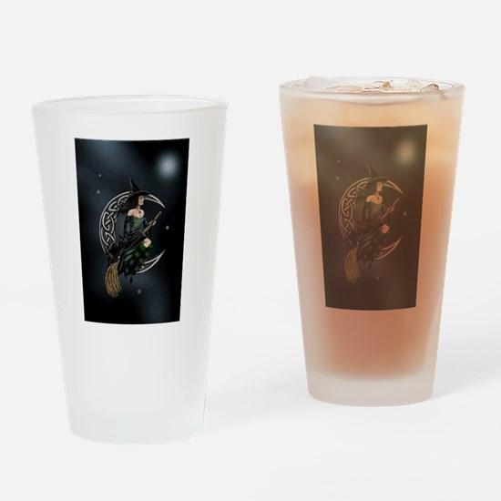 Cresent Witch Drinking Glass