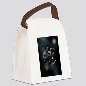 Cresent Witch Canvas Lunch Bag