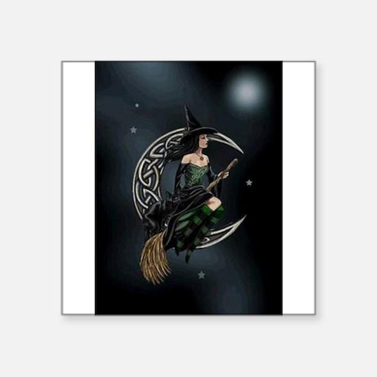Cresent Witch Sticker