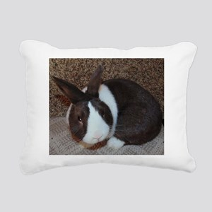 Chocolate Dutch Rectangular Canvas Pillow