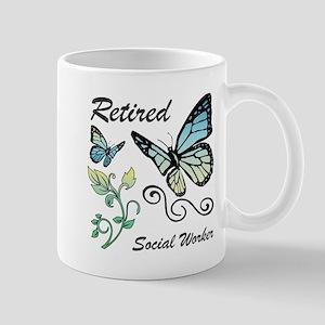 Retired Social Worker Mugs