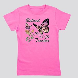Retired Teacher Girl's Tee