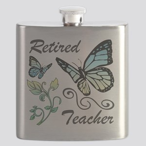 Retired Teacher Flask