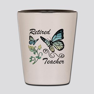 Retired Teacher Shot Glass