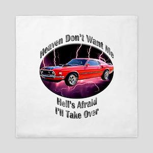 Ford Mustang Mach 1 Queen Duvet
