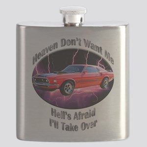 Ford Mustang Mach 1 Flask