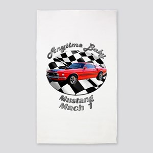Ford Mustang Mach 1 Area Rug