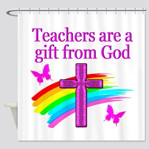 TEACHER JOY Shower Curtain