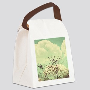 Birds of a Feather Canvas Lunch Bag