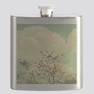 Birds of a Feather Flask