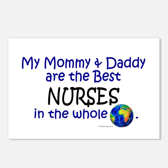 Best Nurses In The World Postcards (Package of 8)