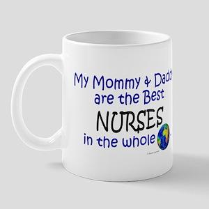 Best Nurses In The World Mug